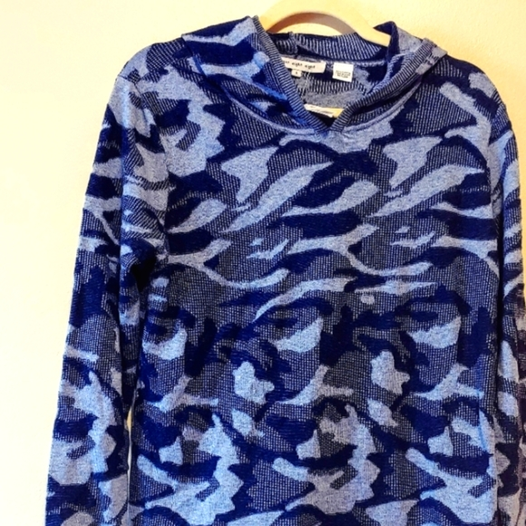 Eight Eight eight camouflage hooded pullover nwt